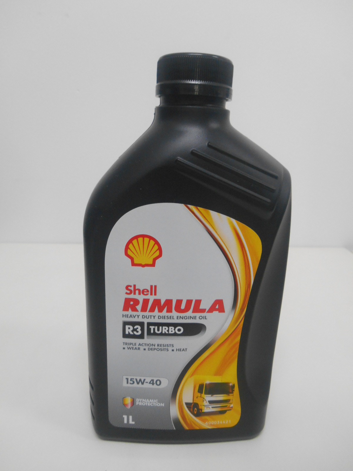 Shell rimula r3 turbo 1 l 15w 40 sejahtera oil for Shell diesel motor oil